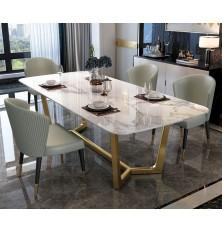 TABLE A MANGER MARBRE